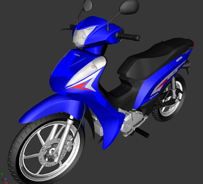 GTA SA - HONDA BIZ 125  EDIT