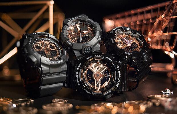 G-Shock พิ้งค์โกลด์ (MMC) ซีรี่ย์