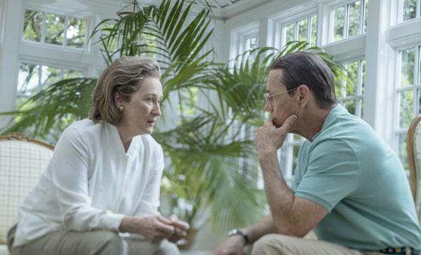 Meryl Streep and Bruce Greenwood in THE POST (2017)