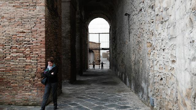 Castel dell'Ovo a Napoli, street photography con la Fuji X-T2