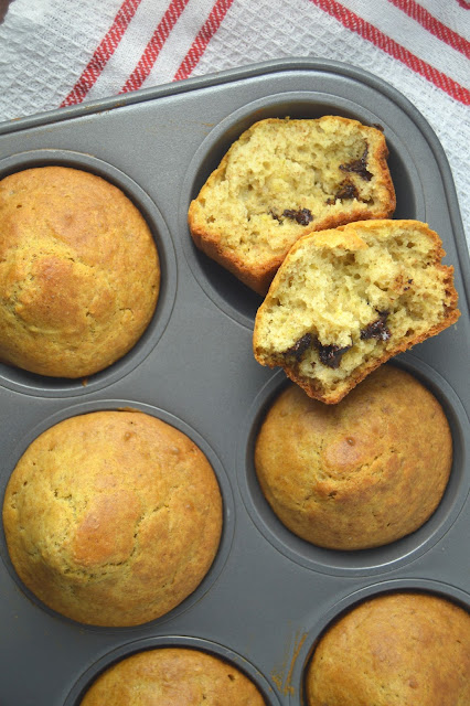 Chocolate Stuffed Muffins