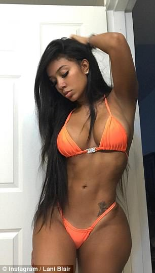 Pictures of the Strip club worker who 'kissed and spent hotel weekend with Tristan Thompson.