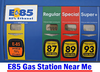 E85 Gas Station Near Me