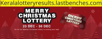 Kerala Lottery Christmas Bumper results