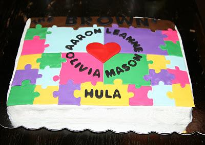 Adoption Finalization Party Cake