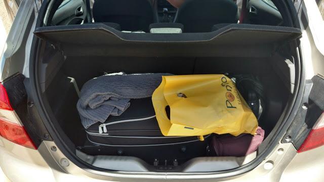 Ford Ka porta-malas