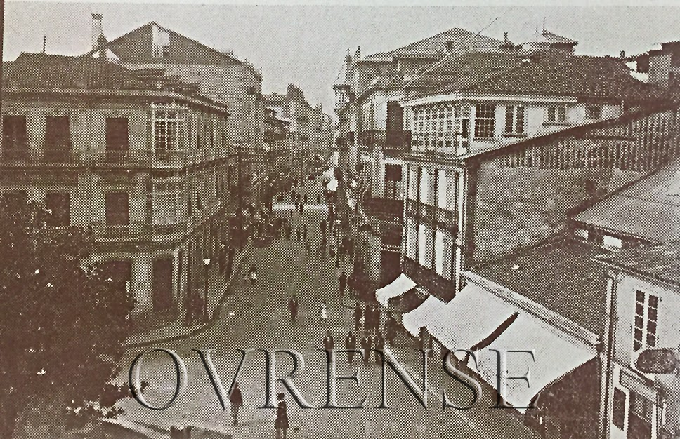 Ourense No Tempo Cruce Paseo San Miguel 1935