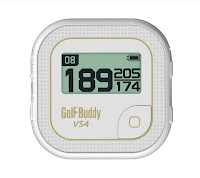 GolfBuddy VS4 Golf GPS, talking GPS, audio distance measuring device, gives distance to front/center/back of green, with 10 hour battery life,