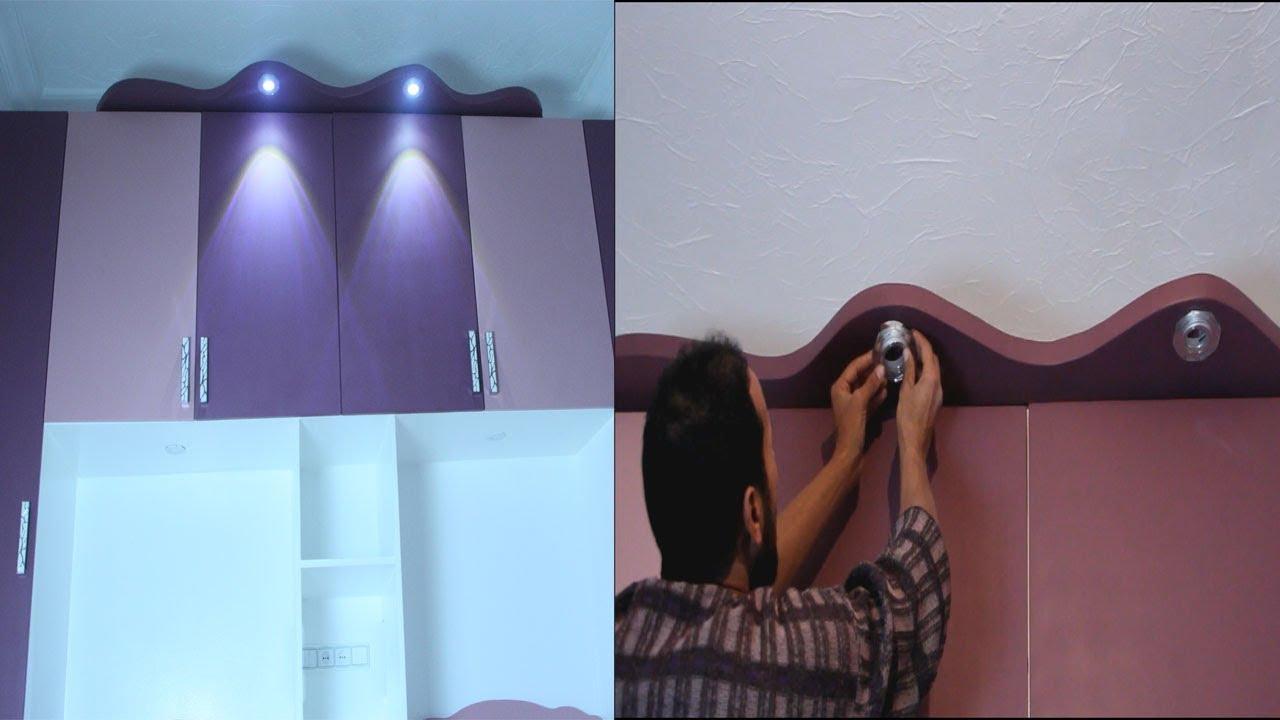 شاهد التاج الذي صنعة في البيت يكون فوق دولاب الملابس/دورة صنع في البيت جزء 3