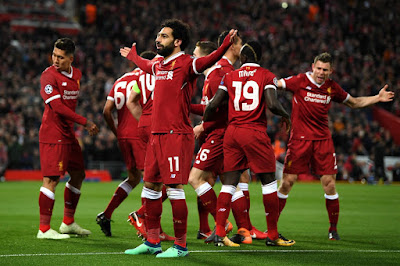 Manchester City vs Liverpool Live Streaming online Today 10.04.2018 Champions League
