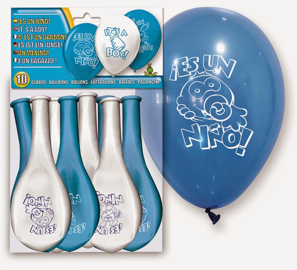 imagen globos para celebraciones, bautizos y fiestas