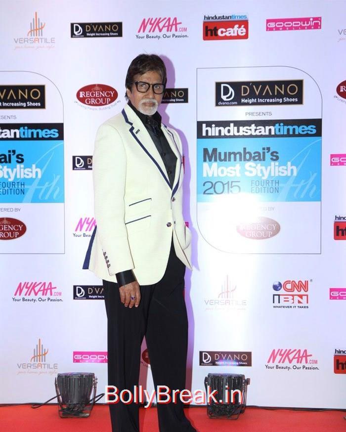 Amitabh Bachchan, Mumbai's Most Stylish Awards 2015 Full Photo Gallery