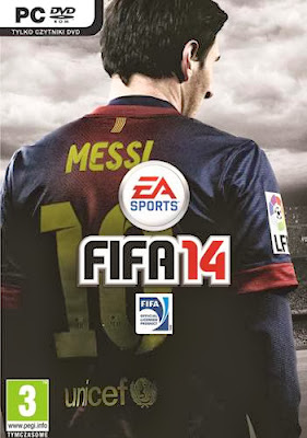 Cover Of FIFA 14 Full Latest Version PC Game Free Download Mediafire Links At worldfree4u.com
