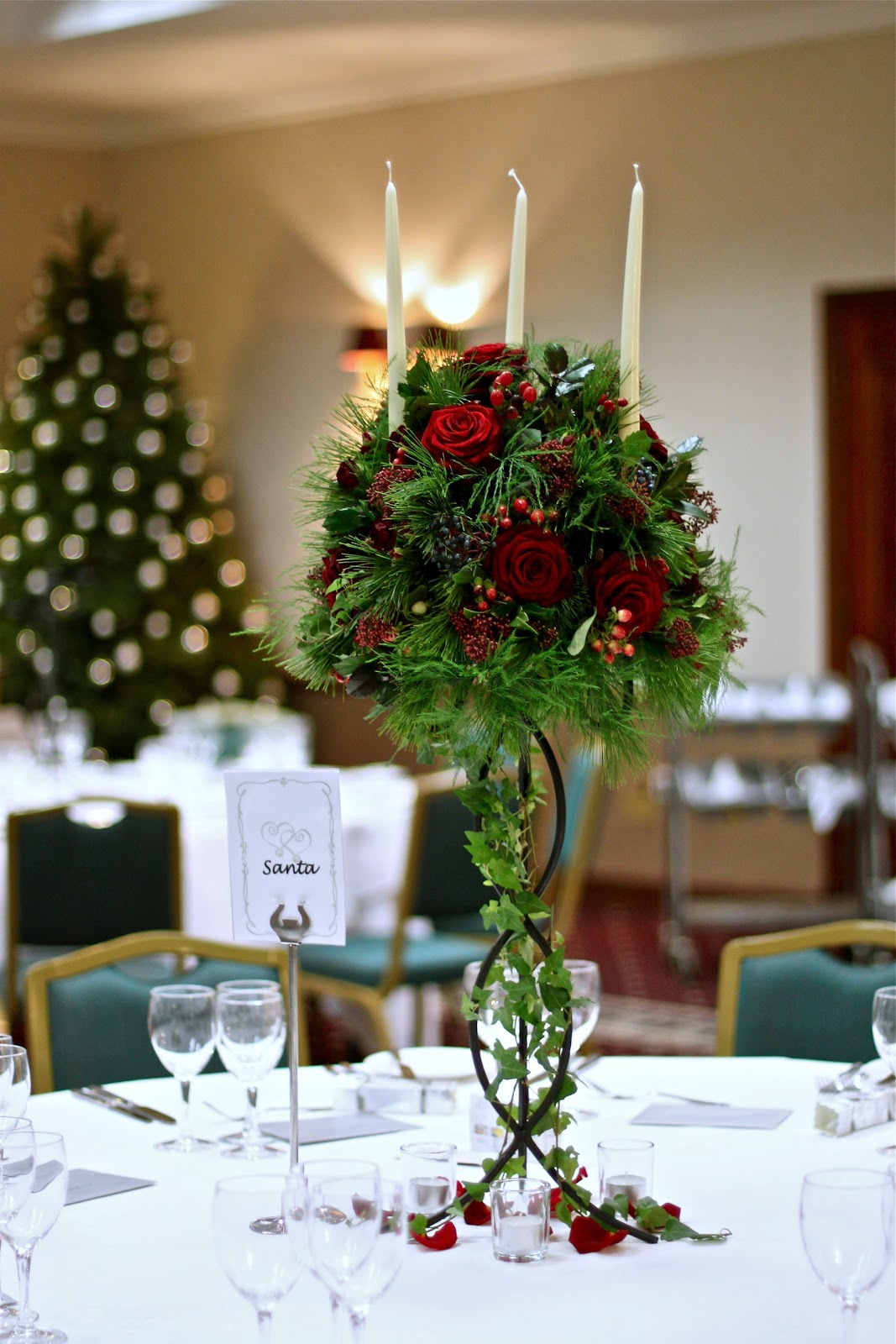Wedding Flowers Blog: Jemma's Christmas Wedding Flowers