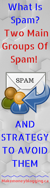 what is spam two main groups of spam