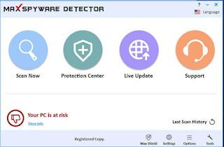 Max Spyware Detector key