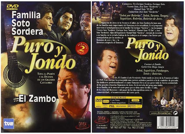 """LUIS EL ZAMBO EN UN RECITAL PARA LA SERIE """"PURO Y JONDO"""" DE TVE"""