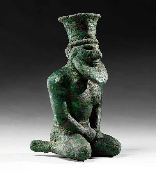 'Founding Figures: Copper Sculpture from Ancient Mesopotamia, ca. 3300–2000 BC' at The Morgan Library & Museum, NY