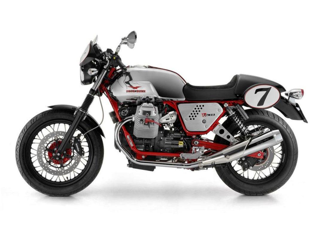 cafe racer special moto guzzi v7 racer. Black Bedroom Furniture Sets. Home Design Ideas