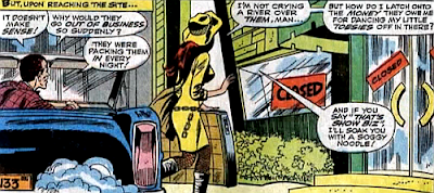 Amazing Spider-Man #61, don heck, john romita, as harry osborn sits in his car and watches, mary jane heads towards the club, only to find that it's closed down overnight