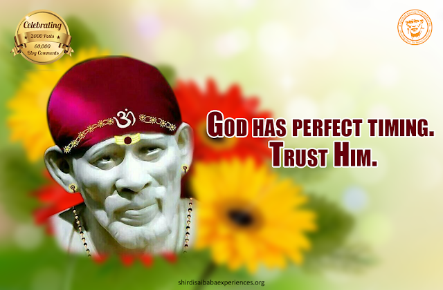 Prayer For His Health - Anonymous Sai Devotee