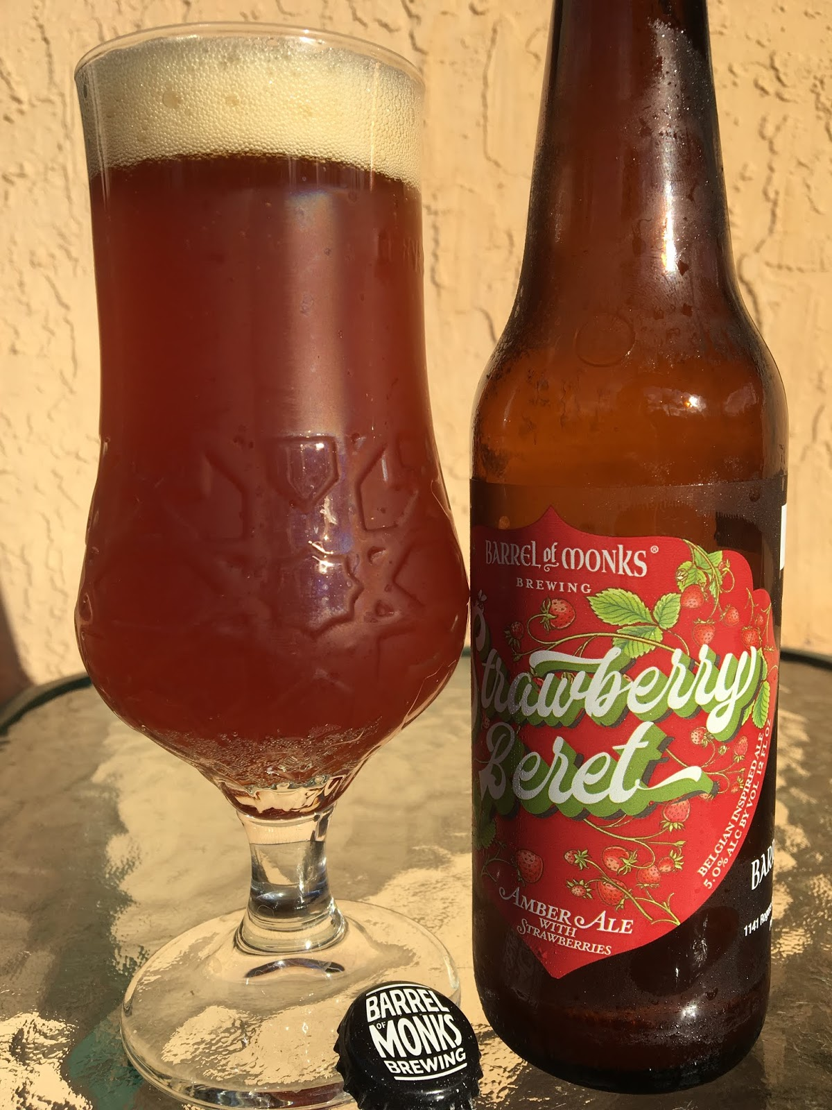Daily Beer Review  Strawberry Beret cd5bcf3b454