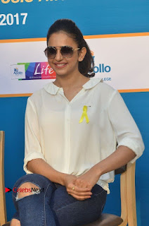 Actress Rakul Preet Singh at Endometriosis Awareness Walk at Apollo Cradle  0078.jpg