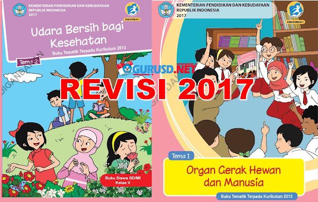 Buku Kelas 5 Kurikulum 2013 Revisi Tahun 2017 Terbaru