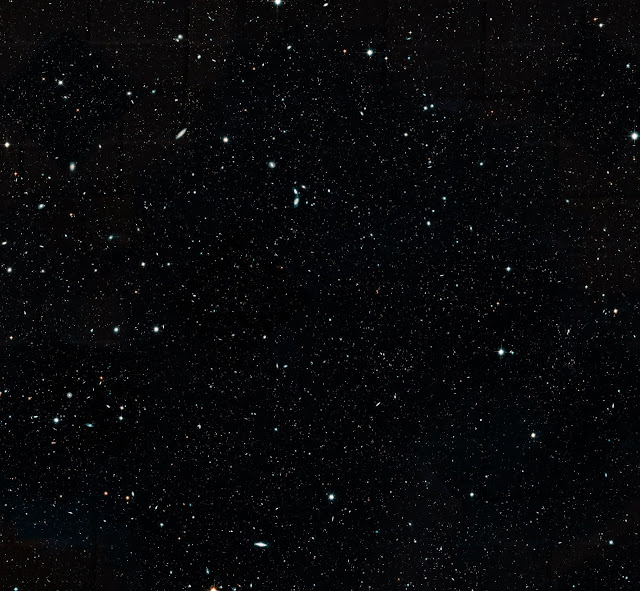 Hubble astronomers assemble wide view of the evolving universe