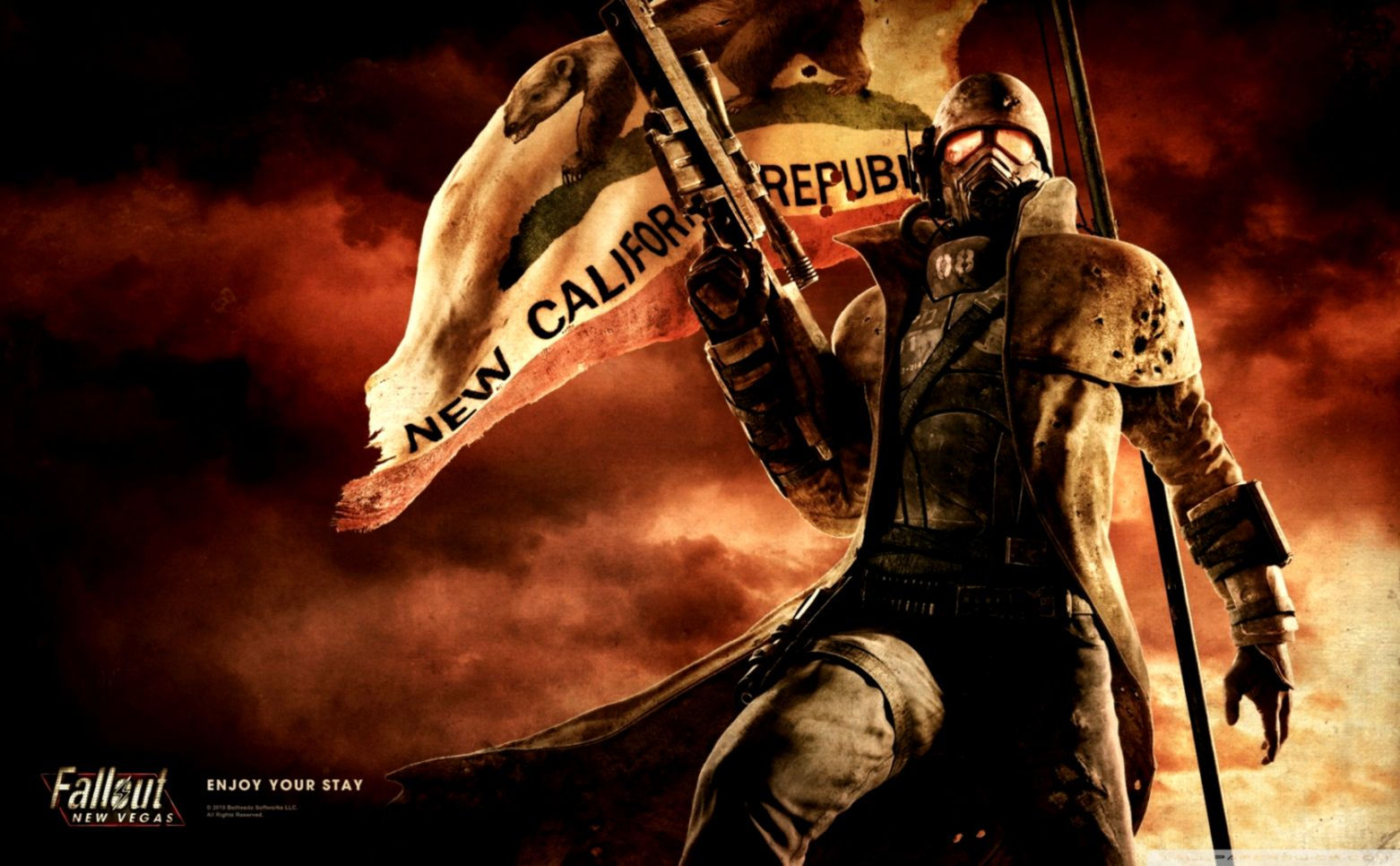 Fallout New Vegas Wallpaper Wide Wallpapers Simple