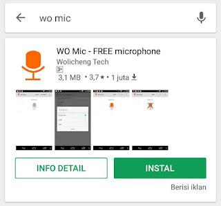 Cara Penggunaan WO Mic 2