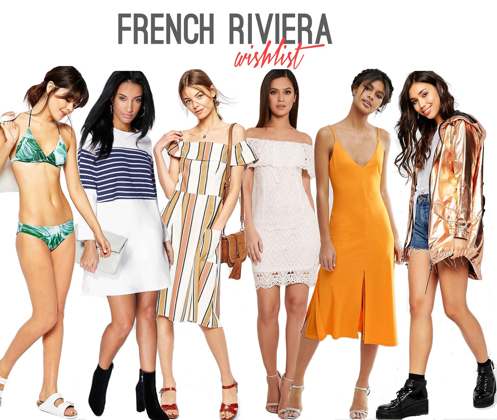 French Riviera Fashion Wishlist - RACHEL NICOLE