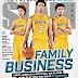 VN Design Predicts the Future Cover of Slam Magazine: The Ball Family