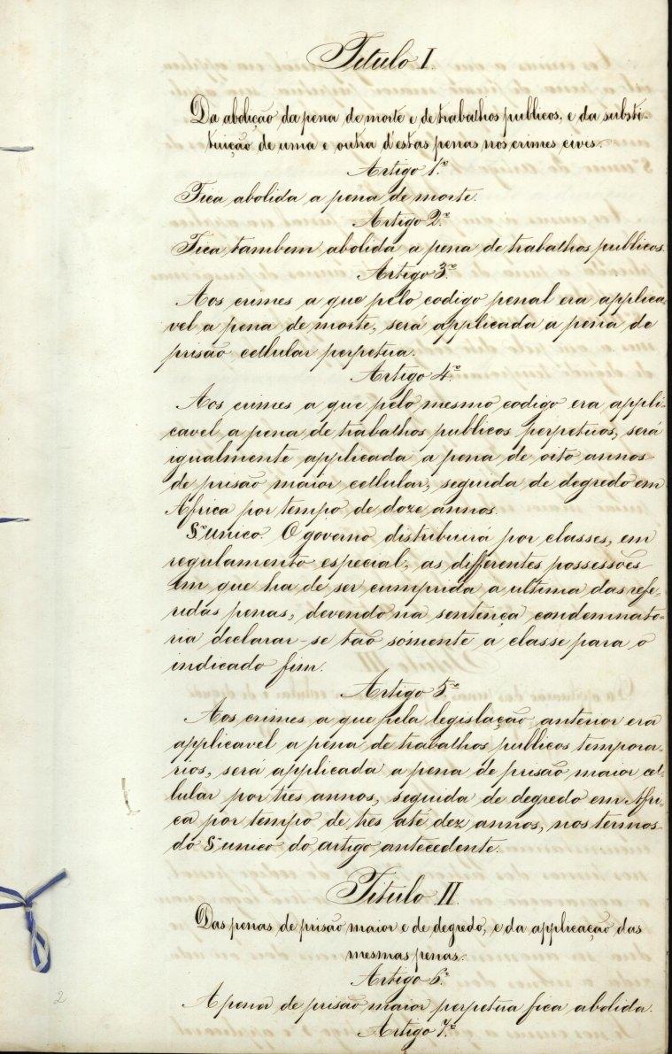 Lei de Abolição da Pena de Morte