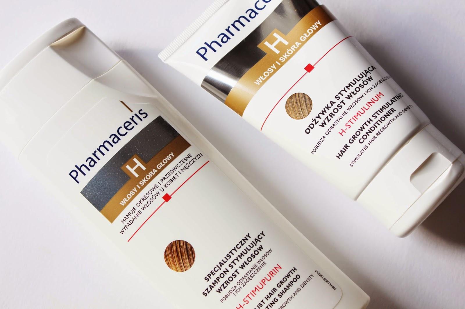 pharmaceris h stimupurin szampon wypadanie włosów