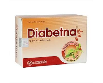 Diabetna hỗ trợ tiểu đường từ chiết xuất lá dây thìa canh