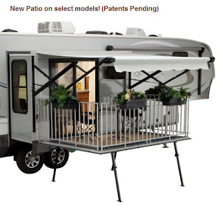 Cool And Interesting Rvs A Deck On An Rv