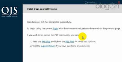 Cara Instalasi OJS 3.1.1 pada Xampp dengan Sistem Operasi Windows 10