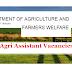 50 Agri Assistant Posts | Last date 06.10.2018