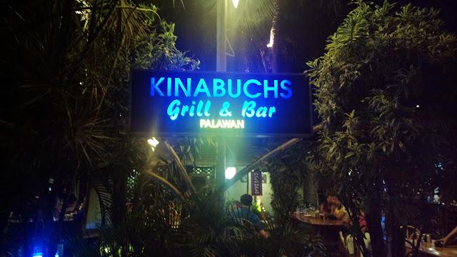 Kinabuchs Grill and Bar in Puerto Princesa City Palawan