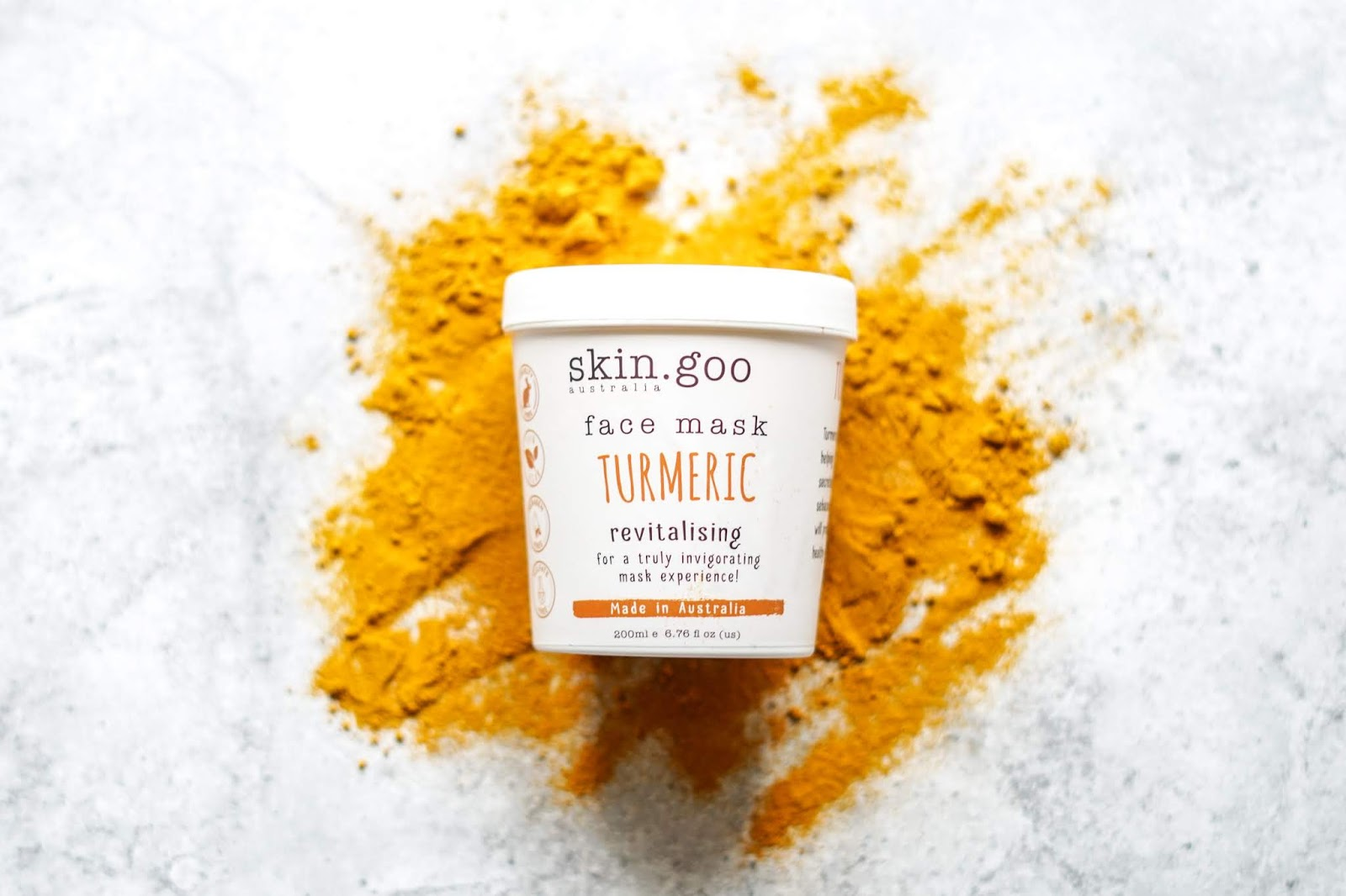 skin.goo Australia Turmeric Face Mask (One Unique)