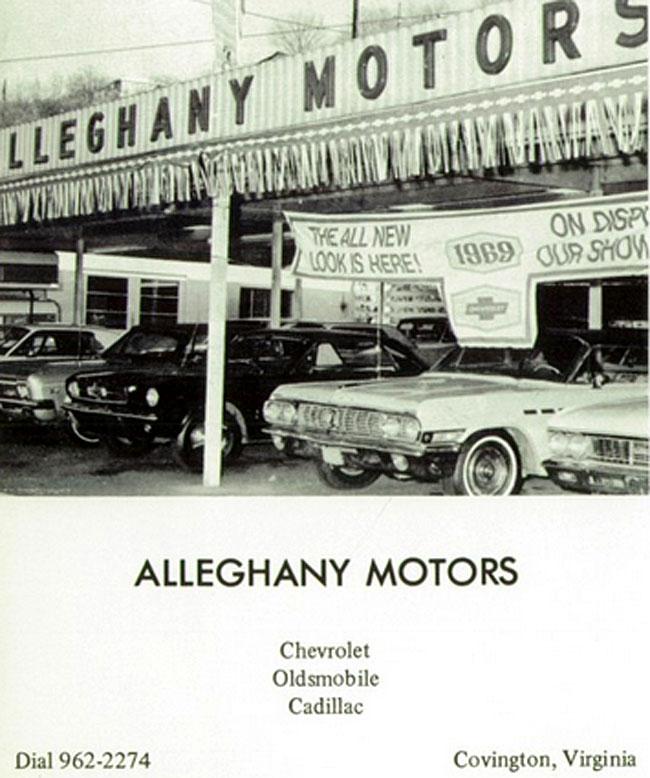 annualmobiles alleghany motors