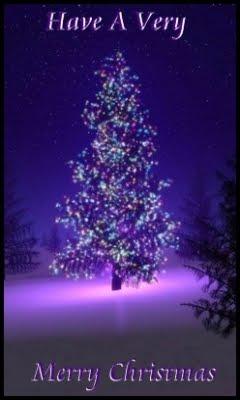 božićne čestitke za mobitel 240x400 besplatne slike za mobitele: Ljubičasta Božićna jelka i  božićne čestitke za mobitel