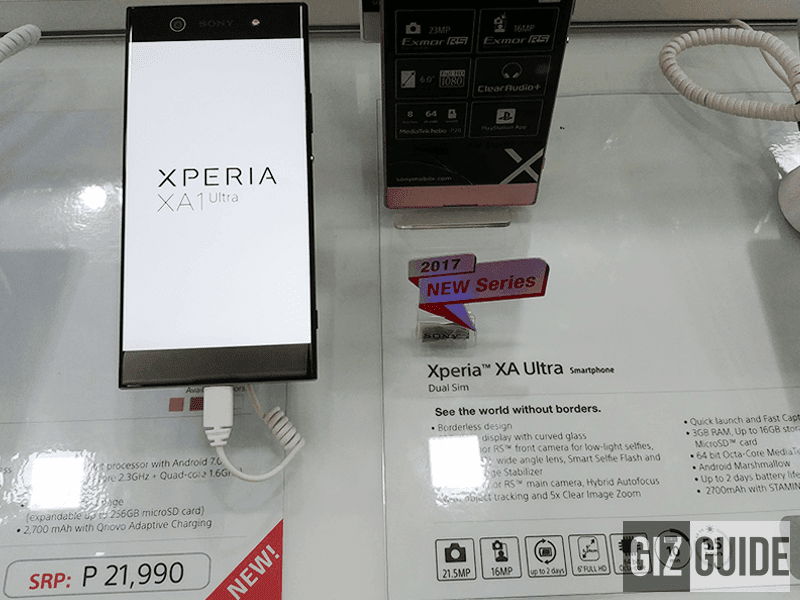 XA1 Ultra PH price