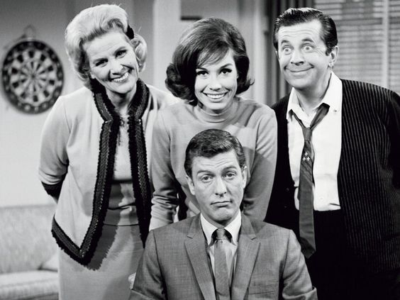 It was all smiles on camera for The Dick Van Dyke Show