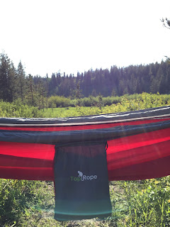 Bag on Top Rope Hammock