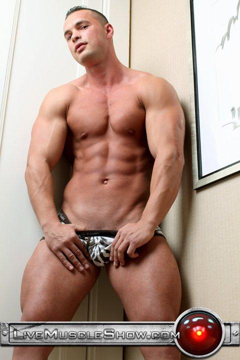 Sitios musculosos de hombres gay