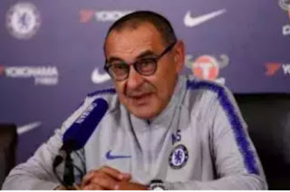Chelsea manager Maurizio Sarri  hips praises on his team after beating Fulham 2-0 to  bounced back from their first Premier League defeat of the season.