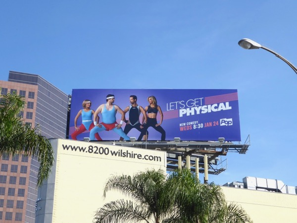 Lets Get Physical series premiere billboard