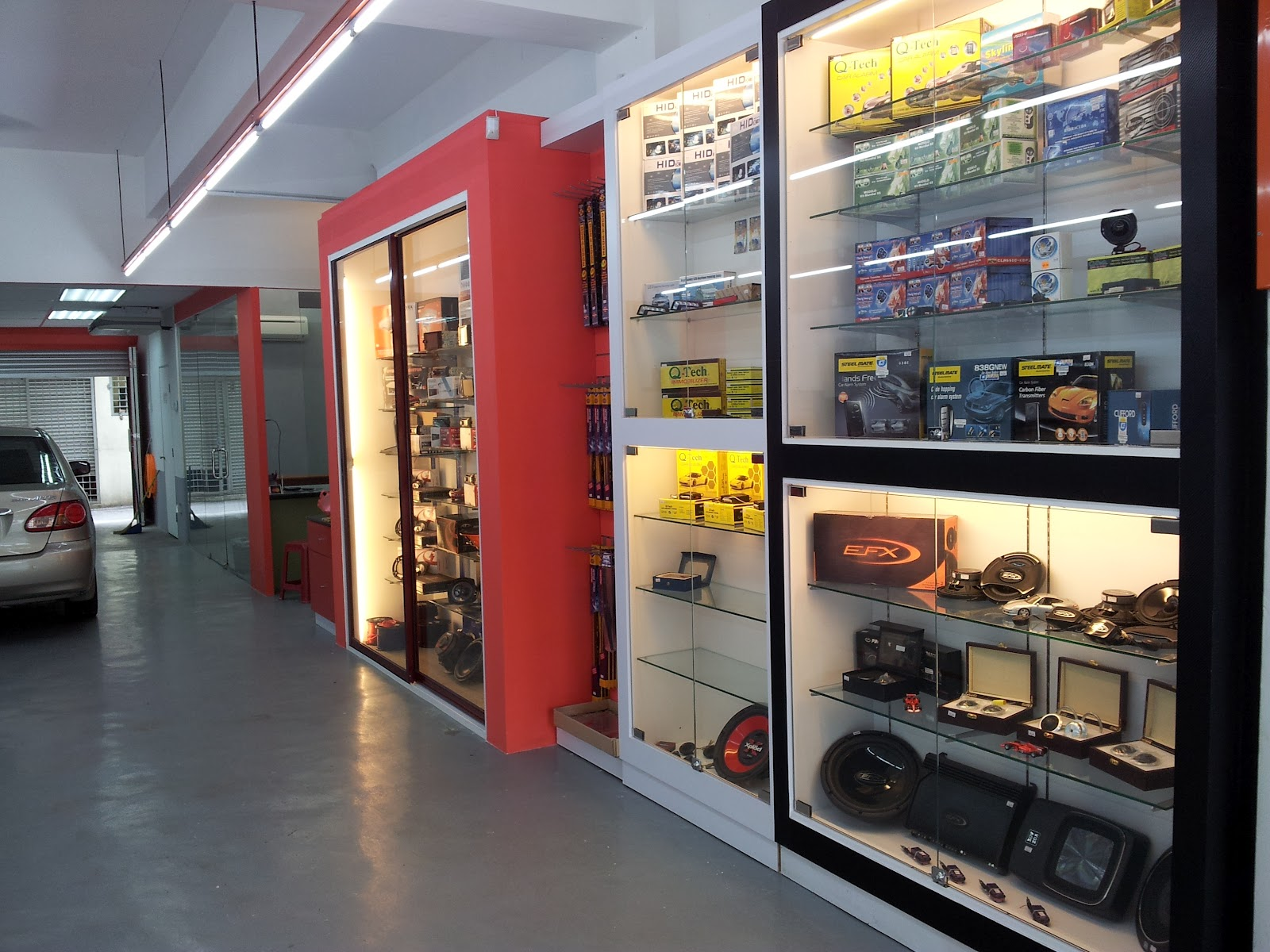 New Opening Auto Accessories Concept Store In Ara Damansara